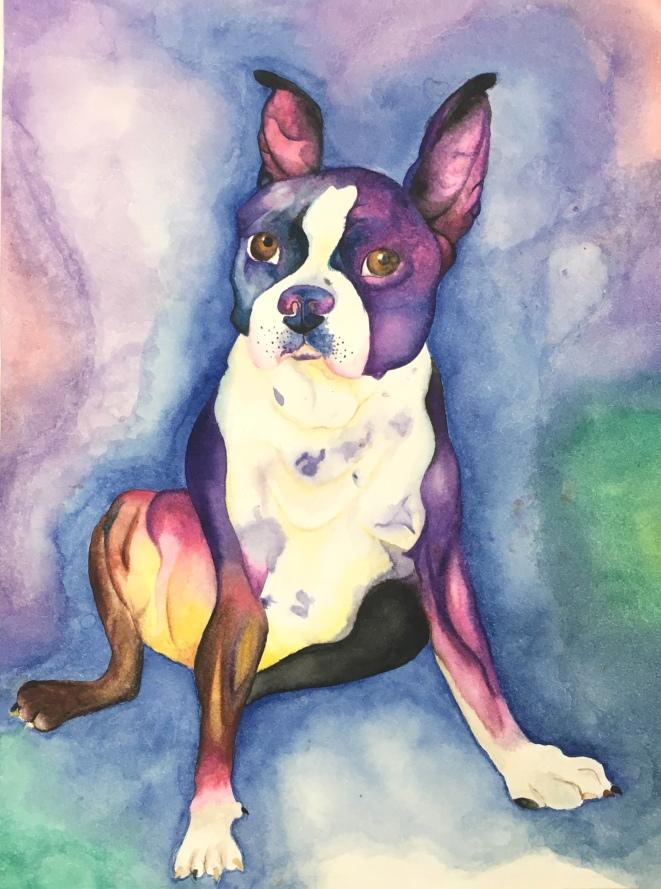 Watercolour_Dog
